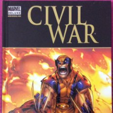 Cómics: MARVEL DELUXE , LOBEZNO - CIVIL WAR. Lote 191879852