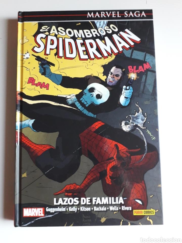 SPIDERMAN SAGA NUM 18. LAZOS DE FAMILIA (Tebeos y Comics - Panini - Marvel Comic)