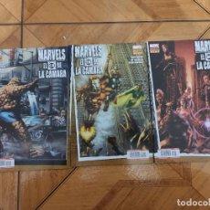 Comics : MARVELS EL OJO DE LA CAMARA SERIE COMPLETA EN GRAPA NUEVA PANINI MARVEL (SPIDERMAN-THOR-...) (2010). Lote 192348555