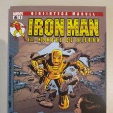 Cómics: BIBLIOTECA MARVEL IRON MAN - 1 - TOMO PANINI. Lote 192663268