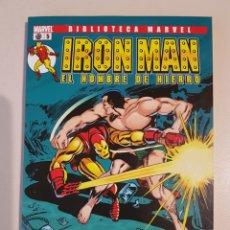 Cómics: BIBLIOTECA MARVEL IRON MAN - 5 - TOMO PANINI. Lote 192663535