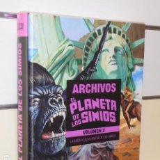 Cómics: ARCHIVOS EL PLANETA DE LOS SIMIOS VOL. 2 LA BESTIA DEL PLANETA DE LOS SIMIOS - OFERTA PANINI. Lote 224971800