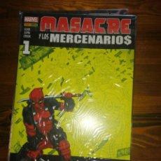 Cómics: MASACRE Y LOS MERCENARIOS. COMPLETA.. 9 EJEMPLARES. Lote 192981555