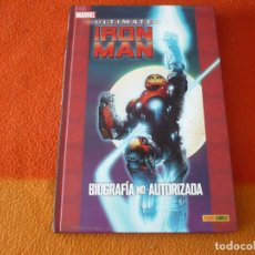 Cómics: ULTIMATE IRON MAN BIOGRAFIA NO AUTORIZADA ( SCOTT CARD FERRY ) ¡MUY BUEN ESTADO! MARVEL TAPA DURA. Lote 193063576