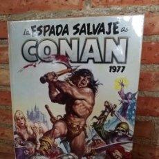 Cómics: LA ESPADA SALVAJE DE CONAN 3 1977 MARVEL LIMITED EDITION PANINI PRECINTADO. Lote 224566918