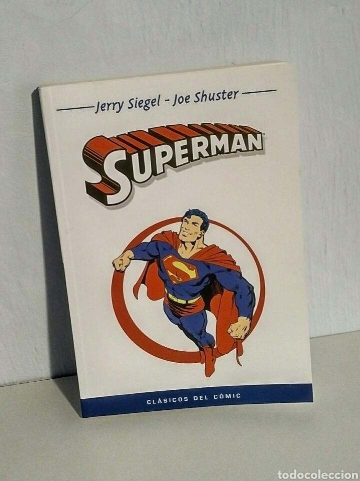 SUPERMAN - CLÁSICOS DEL CÓMIC, DC COMICS, SIEGEL SCHUSTER - PANINI, 2004 (Tebeos y Comics - Panini - Otros)