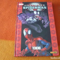 Cómics: ULTIMATE SPIDERMAN 8 VENENO ( BENDIS BAGLEY ) ¡MUY BUEN ESTADO! TAPA DURA MARVEL PANINI. Lote 193296368
