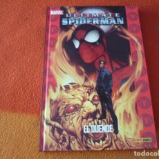 Cómics: ULTIMATE SPIDERMAN 15 EL DUENDE ( BENDIS BAGLEY ) ¡MUY BUEN ESTADO! TAPA DURA MARVEL PANINI. Lote 193313553