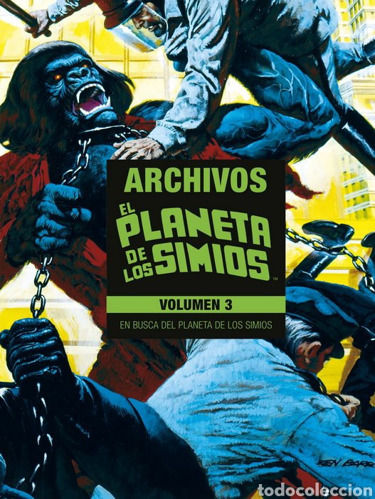 ARCHIVOS EL PLANETA DE LOS SIMIOS TOMO 3 (Tebeos y Comics - Panini - Marvel Comic)