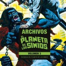 Cómics: ARCHIVOS EL PLANETA DE LOS SIMIOS TOMO 3. Lote 205841607
