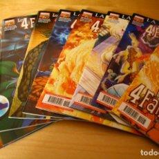 Fumetti: LOS 4 FANTÁSTICOS VOLUMEN VII (7) NÚMEROS 1-2-3-4-5-6-7-8-9 - PANINI 2008. Lote 193809246