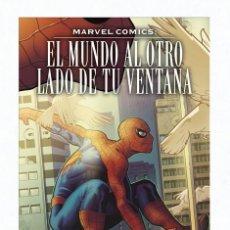 Cómics: EL MUNDO AL OTRO LADO DE LA VENTANA - PANINI / HEROES MARVEL / TAPA DURA. Lote 193906931