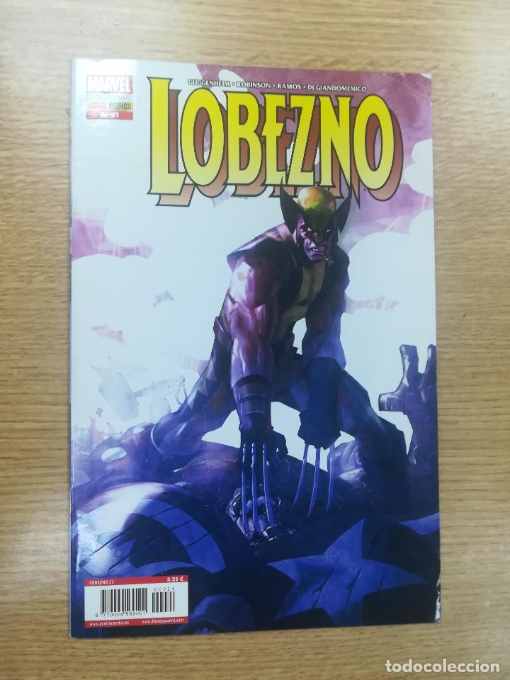 LOBEZNO VOL 4 #21 EDICION NORMAL (Tebeos y Comics - Panini - Marvel Comic)