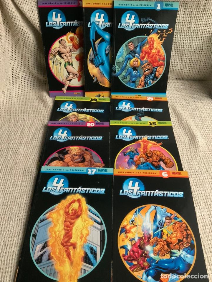 LOS 4 FANTASTICOS, DEL COMIC A LA PELICULA - 9 EJEMPLARES Nº 1,6,14,15,16,17,18,19,20 -ED. PANINI (Tebeos y Comics - Panini - Marvel Comic)