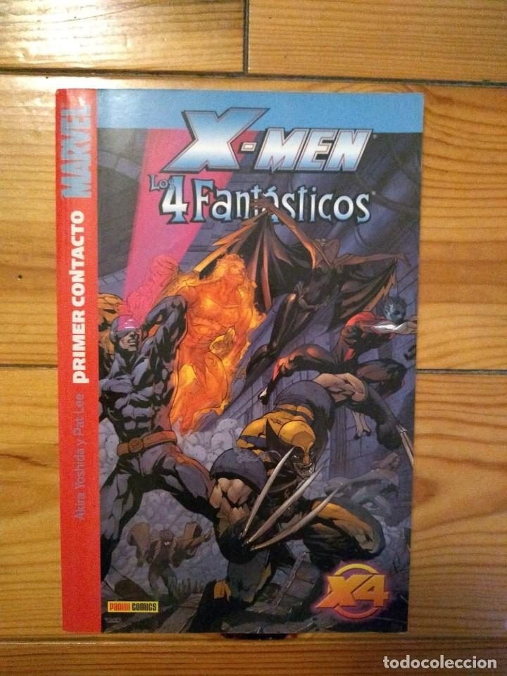 X - MEN / LOS 4 FANTÁSTICOS: PRIMER CONTACTO (Tebeos y Comics - Panini - Marvel Comic)