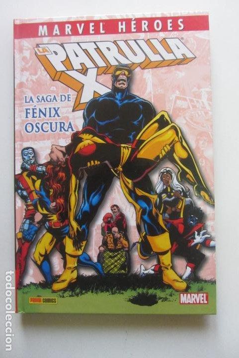 LA PATRULLA X LA SAGA DE FENIX OSCURA BUEN ESTADO TAPA DURA HEROES MARVEL PANINI CX41 (Tebeos y Comics - Panini - Marvel Comic)