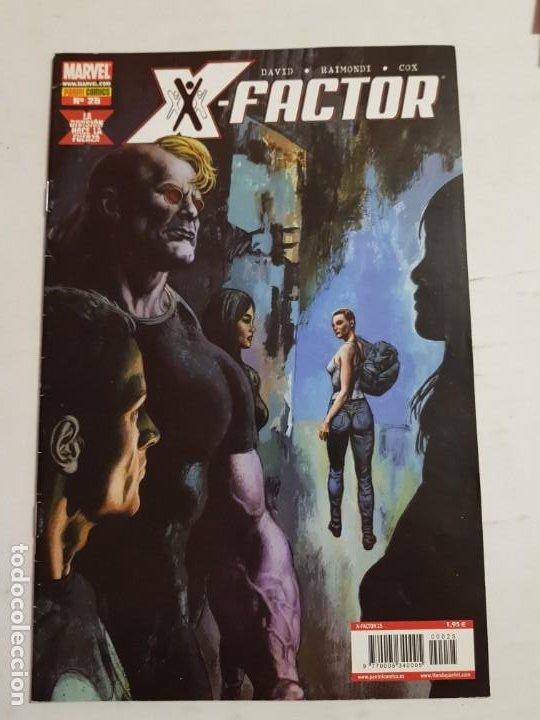 X-.FACTOR Nº 25 PERTENECE A LA MINI SERIE DE 3 ESTADO MUY BUENO MAS ARTICULOS ACEPTO OFERTAS (Tebeos y Comics - Panini - Marvel Comic)