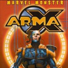 Cómics: MARVEL MONSTER ARMA X. Lote 194259287