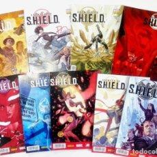 Cómics: AGENTES DE S.H.I.E.L.D. (MARK WAID) NºS 1 A 9 - MARVEL / PANINI. Lote 194285608