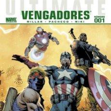 Cómics: ULTIMATE COMICS VENGADORES PANINI ESPAÑA COMPLETA 12 Nº.. Lote 194302415
