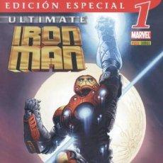 Cómics: ULTIMATE IRON MAN EDICIÓN ESPECIAL PANINI ESPAÑA COMPLETA 2 Nº.. Lote 194306811