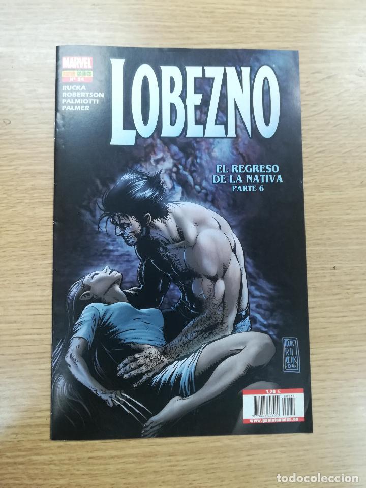 LOBEZNO VOL 4 #34 (Tebeos y Comics - Panini - Marvel Comic)