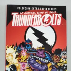 Fumetti: THUNDERBOLTS : ¿ UN MUNDO FELIZ ? - COLECCION EXTRA SUPERHEROES / MARVEL PANINI. Lote 194371317