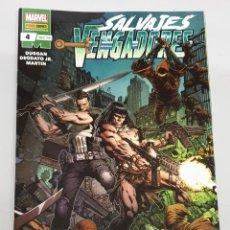 Cómics: SALVAJES VENGADORES Nº 4 - GERRY DUGGAN - MIKE DEODATO JR. / MARVEL - PANINI. Lote 194508822