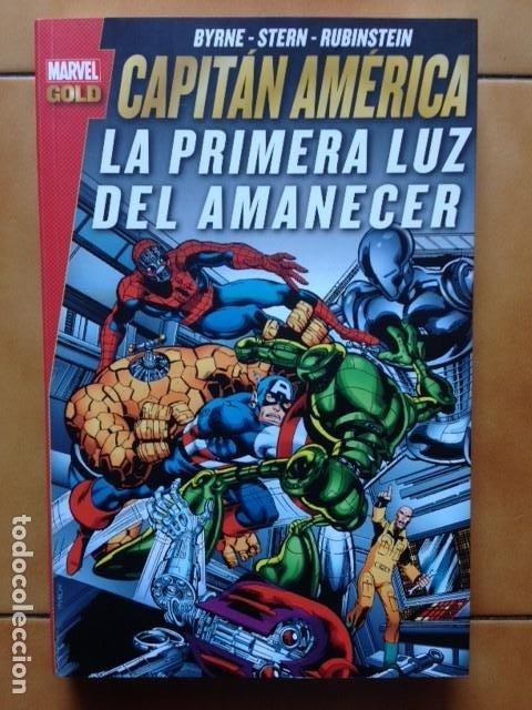 MARVEL GOLD CAPITAN AMERICA - ROGER STERN & JOHN BYRNE / FRANK MILLER / GENE COLAN - PANINI (Tebeos y Comics - Panini - Marvel Comic)