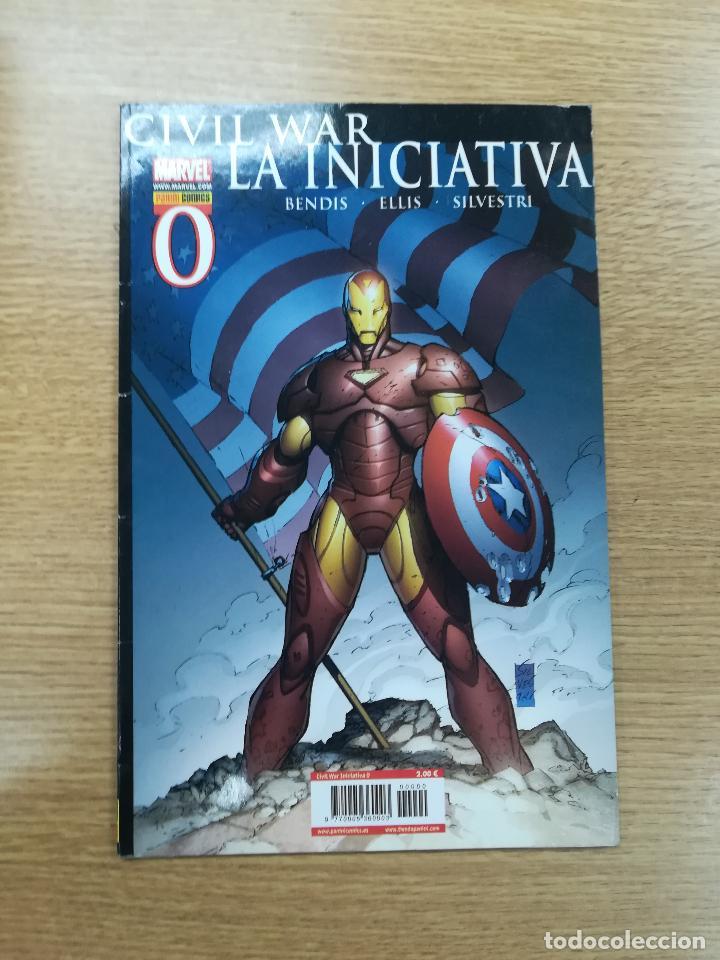 CIVIL WAR LA INICIATIVA #0 (Tebeos y Comics - Panini - Marvel Comic)