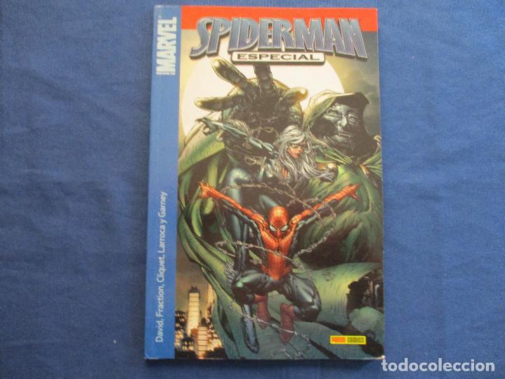 MARVEL / SPIDERMAN ESPECIAL N.º 1 DE PETER DAVID, MATT FRACTION... / PANINI TOMO 104 PÁGINAS (Tebeos y Comics - Panini - Marvel Comic)