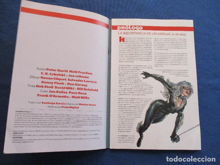 Cómics: MARVEL / SPIDERMAN ESPECIAL N.º 1 de PETER DAVID, MATT FRACTION... / PANINI TOMO 104 PÁGINAS - Foto 5 - 194576681