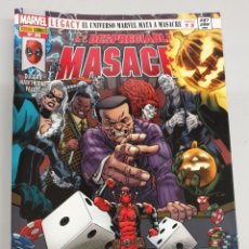 Cómics: EL DESPRECIABLE MASACRE VOL 3 Nº 30 : EL UNIVERSO MARVEL MATA A MASACRE PARTE 1 A 3 - MARVEL PANINI. Lote 194660598