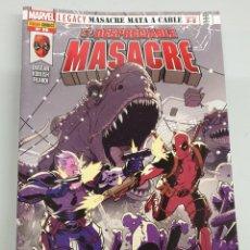Cómics: EL DESPRECIABLE MASACRE VOL 3 Nº 26 : MASACRE MATA A CABLE PARTE 3 A 5 - MARVEL PANINI. Lote 194660660