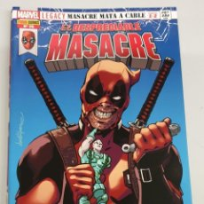 Cómics: EL DESPRECIABLE MASACRE VOL 3 Nº 25 : MASACRE MATA A CABLE PARTE 1 Y 2 - MARVEL PANINI. Lote 194660696