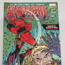 Cómics: MASACRE VOL 3 Nº 5 : VS DIENTES DE SABLE - MARVEL COMICS. Lote 194661496