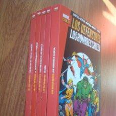 Cómics: LOS DEFENSORES MARVEL GOLD (LOTE 5 TOMOS). Lote 194862458