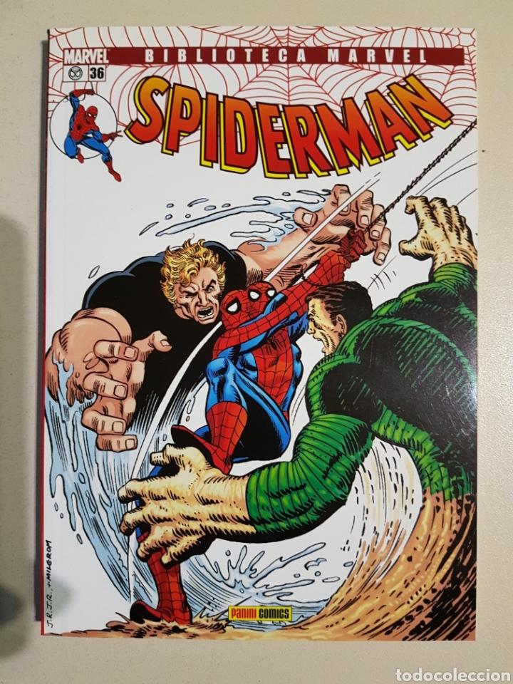 BIBLIOTECA MARVEL SPIDERMAN - 36 - TOMO PANINI (Tebeos y Comics - Panini - Marvel Comic)