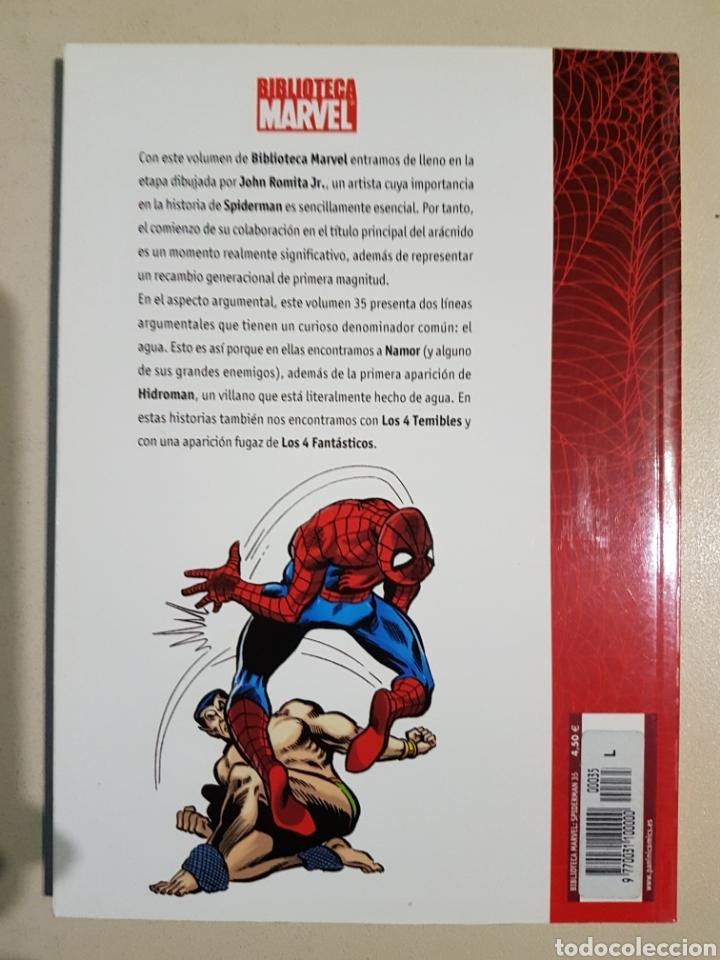 Cómics: BIBLIOTECA MARVEL SPIDERMAN - 35 - TOMO PANINI - Foto 2 - 194897236