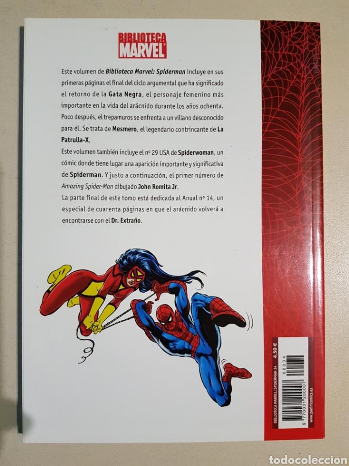 Cómics: BIBLIOTECA MARVEL SPIDERMAN - 34 - TOMO PANINI - Foto 2 - 194897253