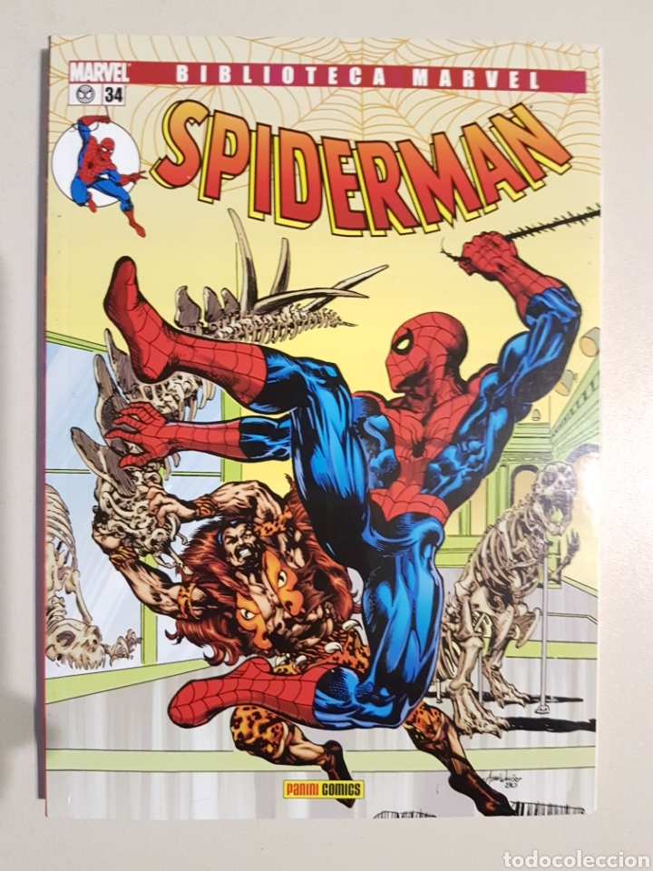 BIBLIOTECA MARVEL SPIDERMAN - 34 - TOMO PANINI (Tebeos y Comics - Panini - Marvel Comic)
