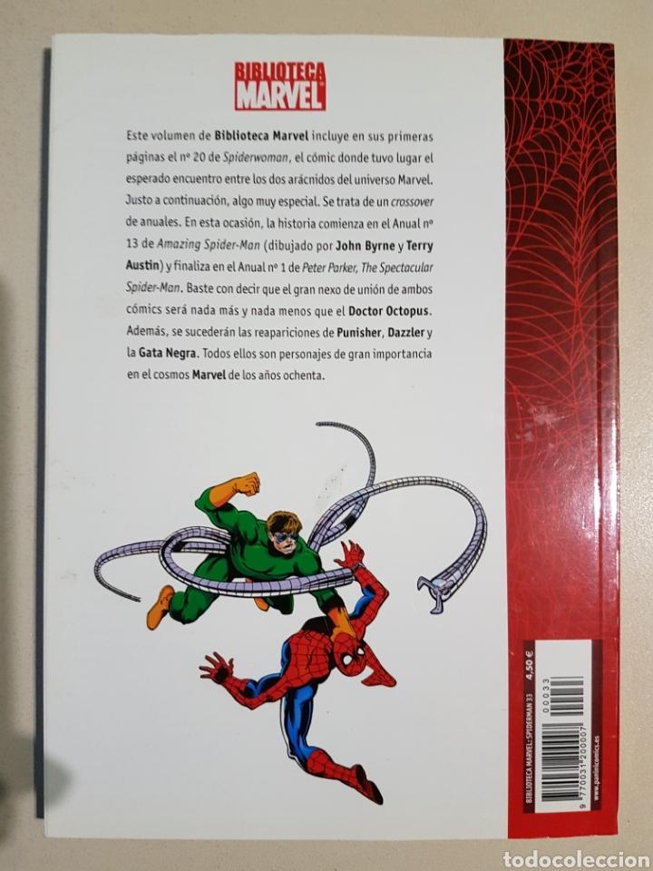 Cómics: BIBLIOTECA MARVEL SPIDERMAN - 33 - TOMO PANINI - Foto 2 - 194897297