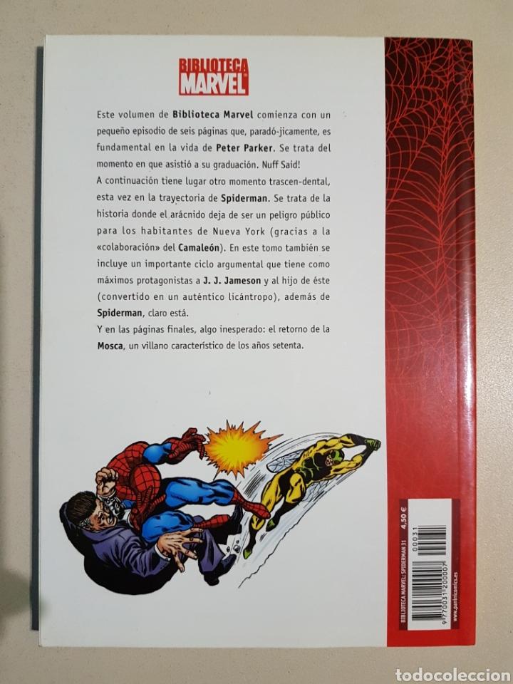 Cómics: BIBLIOTECA MARVEL SPIDERMAN - 31 - TOMO PANINI - Foto 2 - 194897347