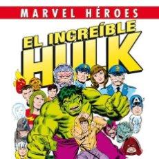Cómics: EL INCREIBLE HULK 1 : UN MONSTRUO ENTRE NOSOTROS - PANINI / MARVEL HEROES 63 / TAPA DURA. Lote 194913668