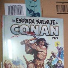 Cómics: ESPADA SALVAJE DE CONAN 3 MARVEL OMNIBUS PANINI NUEVO PRECINTADO. Lote 194940053