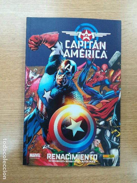 CAPITAN AMERICA RENACIMIENTO (100% MARVEL) (Tebeos y Comics - Panini - Marvel Comic)