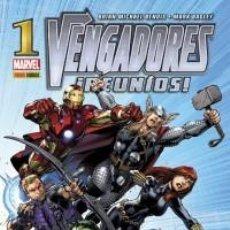 Cómics: VENGADORES REUNIDOS 1-5. Lote 194982602