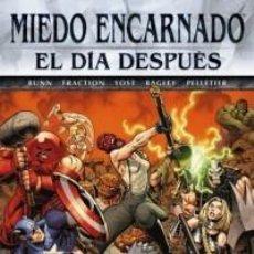 Cómics: MIEDO ENCARNADO EL DIA DESPUÉS 1-4. Lote 194986126