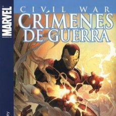 Cómics: CRIMENES DE GUERRA CIVIL WAR. Lote 194987487