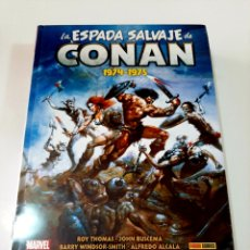 Cómics: LA ESPADA SALVAJE DE CONAN 1974-1975 OMNIBUS VOLUMEN 1 - PANINI MARVEL. Lote 194991550